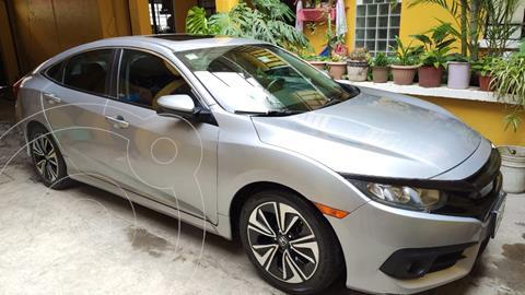 Honda Civic Turbo Plus Aut usado (2018) color Plata precio $330,000