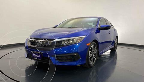 Honda Civic EX 1.8L Aut usado (2015) color Azul precio $264,999