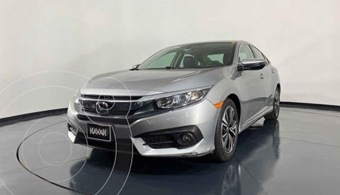 Honda Civic Turbo Plus Aut usado (2018) color Gris precio $327,999