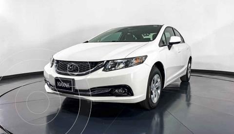 Honda Civic LX 1.8L Aut usado (2013) color Blanco precio $177,999