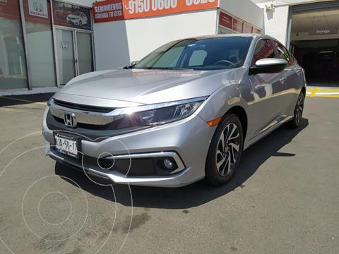 Honda Civic i-Style Aut usado (2019) color Plata Lunar precio $335,000