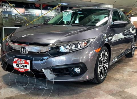 Honda Civic Turbo Plus Aut usado (2018) color Gris precio $377,000