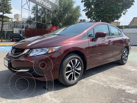 Honda Civic EXL 1.8L Aut NAVI usado (2014) color Rojo precio $210,000