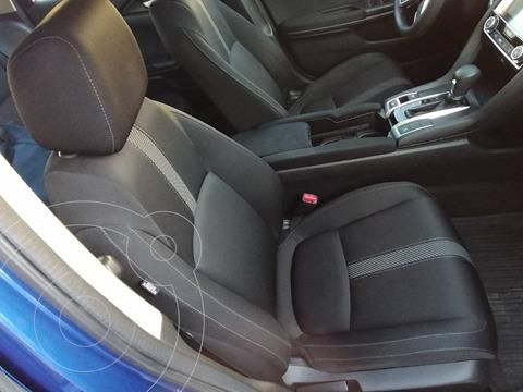 Honda Civic Turbo Aut usado (2016) color Azul precio $120,000