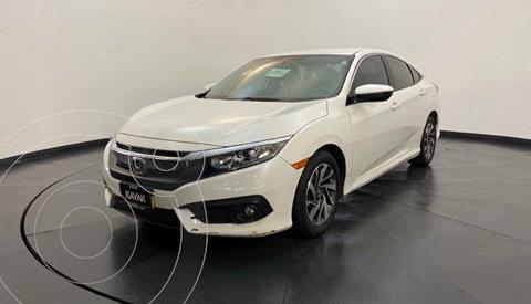 Honda Civic i-Style Aut usado (2018) color Blanco precio $307,999