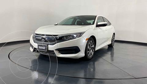 Honda Civic EX 1.8L Aut usado (2015) color Blanco precio $262,999