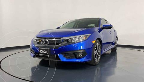 Honda Civic Turbo Plus Aut usado (2018) color Azul precio $342,999