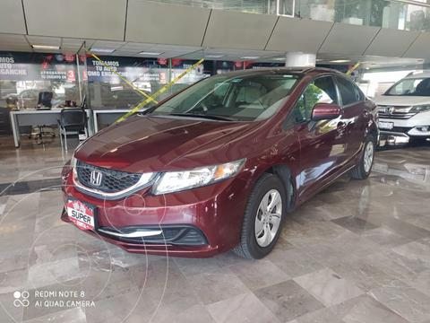 Honda Civic Coupe EX 1.8L usado (2014) color Rojo Cobrizo precio $189,000
