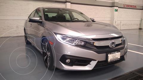 Honda Civic Touring Aut usado (2018) color Plata Dorado precio $358,000