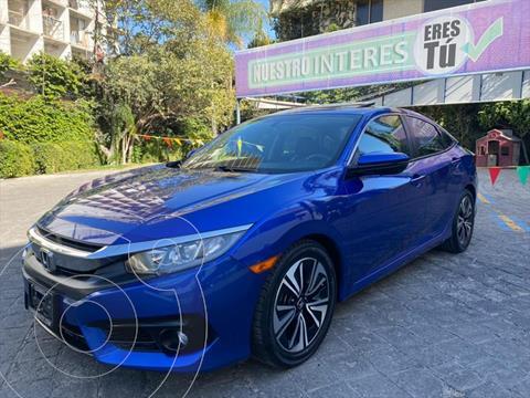 Honda Civic EX usado (2016) color Azul Electrico precio $298,000