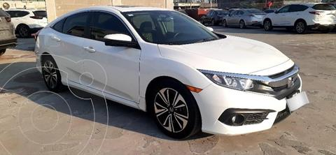 Honda Civic Turbo Plus Aut usado (2017) color Blanco precio $309,000