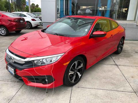 Honda Civic Coupe Turbo Aut usado (2018) color Rojo precio $337,000