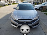 Honda Civic Turbo Aut usado (2017) color Plata precio $282,500