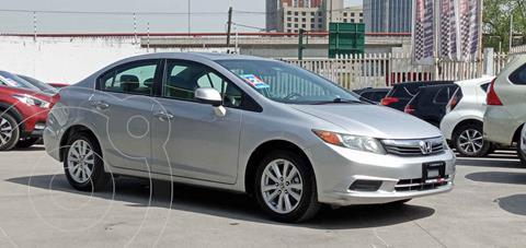 Honda Civic EXL 1.8L Aut usado (2012) color Plata precio $153,990