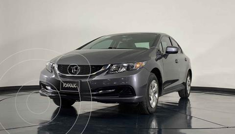 Honda Civic LX 1.8L Aut usado (2014) color Gris precio $187,999