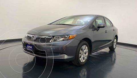 Honda Civic LX 1.8L usado (2012) color Gris precio $149,999