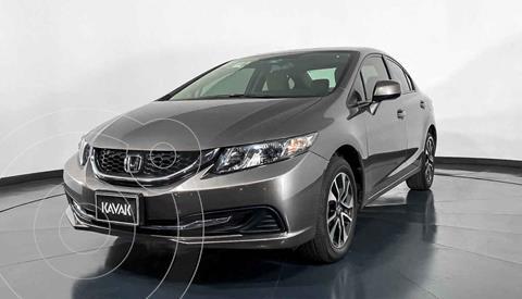 Honda Civic EX Aut usado (2013) color Cafe precio $187,999