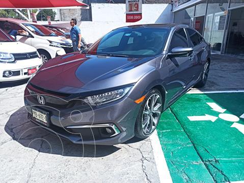 Honda Civic Touring Aut usado (2019) color Gris financiado en mensualidades(enganche $105,119 mensualidades desde $8,904)