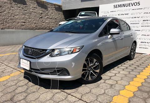 Honda Civic EXL 1.8L Aut usado (2015) color Plata Dorado precio $255,000