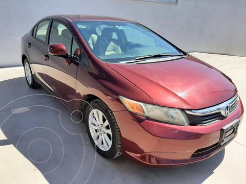 Honda Civic EX 1.8L usado (2012) color Rojo precio $156,465