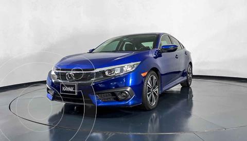 Honda Civic Turbo Plus Aut usado (2016) color Azul precio $294,999
