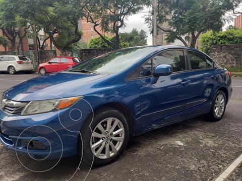 Honda Civic EX 1.8L Aut usado (2012) color Azul precio $135,000