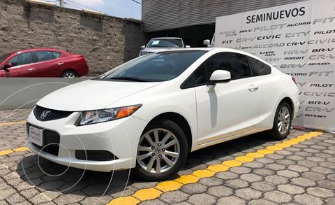 Honda Civic Coupe EX 1.8L usado (2012) color Blanco precio $175,000