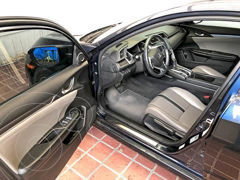 Honda Civic Turbo Plus Aut usado (2016) color Gris precio $125,000