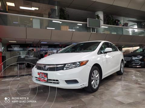 Honda Civic EX 1.8L usado (2012) color Blanco precio $173,000