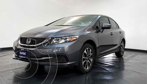 Honda Civic EX 1.8L Aut usado (2014) color Gris precio $189,999