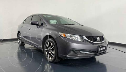 Honda Civic EXL 1.8L Aut NAVI usado (2014) color Gris precio $197,999