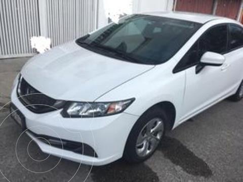 Honda Civic EX 1.8L Aut usado (2015) color Blanco precio $209,999