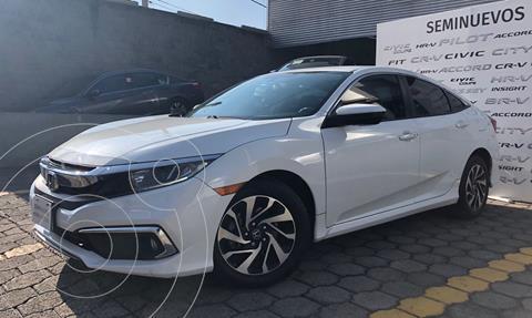 Honda Civic i-Style Aut usado (2020) color Blanco precio $379,000