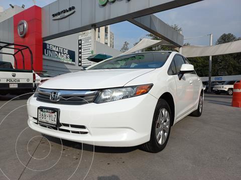 Honda Civic LX 1.8L usado (2012) color Blanco Marfil precio $167,000