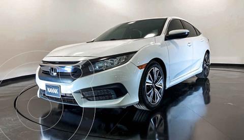 Honda Civic EX 1.8L Aut usado (2015) color Blanco precio $284,999
