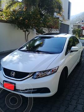 Honda Civic EX 1.8L usado (2015) color Blanco precio $186,000