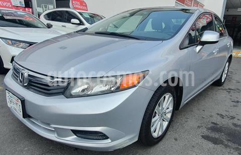 Honda Civic EX usado (2012) color Plata precio $160,000