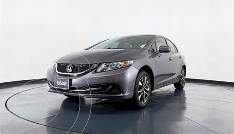 Honda Civic EX 1.8L Aut usado (2015) color Gris precio $209,999