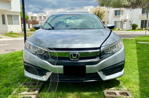Honda Civic Turbo Aut usado (2016) color Plata precio $259,900
