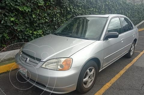 Honda Civic EX Aut usado (2001) color Plata precio $78,000
