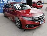 Honda Civic Touring Aut usado (2019) color Rojo precio $405,000