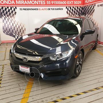 Honda Civic Turbo Aut usado (2016) color Azul precio $265,000