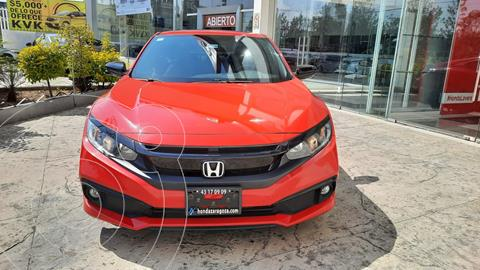 Honda Civic Coupe Turbo Aut usado (2019) color Rojo precio $380,000