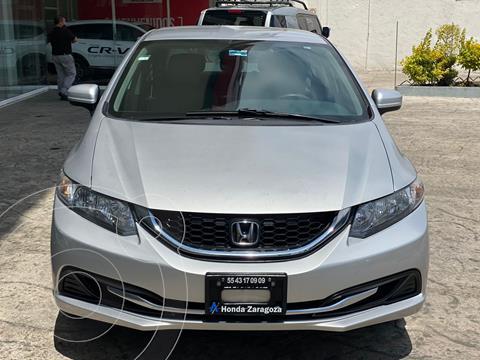 Honda Civic LX 1.8L usado (2014) color Plata Dorado precio $187,000