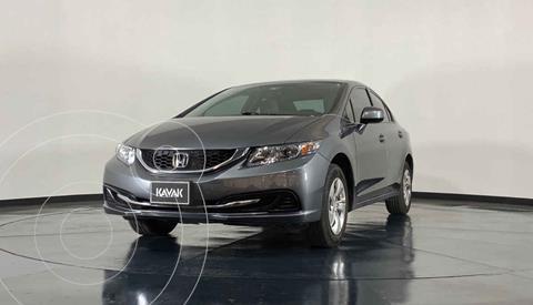 Honda Civic LX 1.8L Aut usado (2013) color Gris precio $172,999
