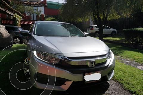 Honda Civic Turbo Aut usado (2016) color Gris precio $259,000