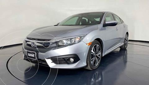 Honda Civic Turbo Plus Aut usado (2018) color Plata precio $342,999