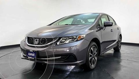 Honda Civic EX 1.8L Aut usado (2015) color Gris precio $217,999