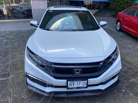 Honda Civic Touring usado (2020) color Blanco precio $429,000