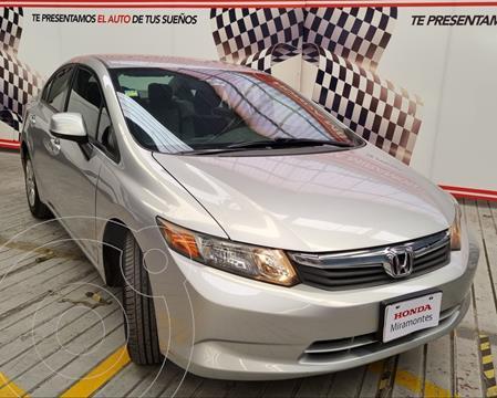 Honda Civic LX 1.8L Aut usado (2012) color Plata precio $170,000